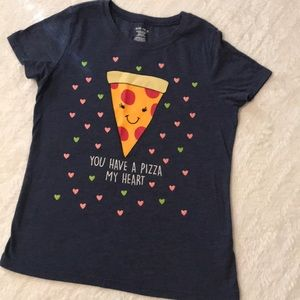 "Other - Girls ""you have a 'pizza' my heart"" tee"